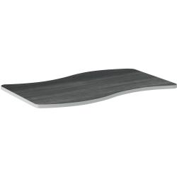 "HON® Build 54""W Configurations Ribbon Table, Gray"