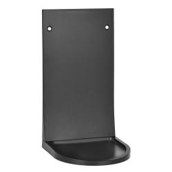 "Alpine Universal Hand Soap/Hand Sanitizer Dispenser Drip Tray, 7-3/16""H x 4""W x 4""D, Black"