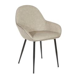 Office Star™ Piper Chair, Fog/Black