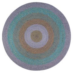 """Anji Mountain Barton Round Area Rug, 48"""", Multicolor"""