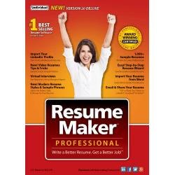 Resumemaker Professional Pro Deluxe 20 Disc Office Depot