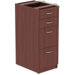 Lorell® Relevance Series Pedestal File, Mahogany