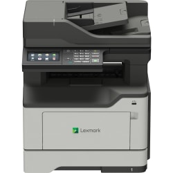 Lexmark MX420 MX421ade Laser Multifunction Printer - Monochrome - Plain Paper Print - Desktop - TAA Compliant