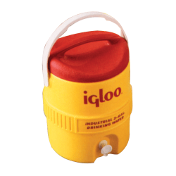 400 Series Coolers, 5 gal, Red; Yellow