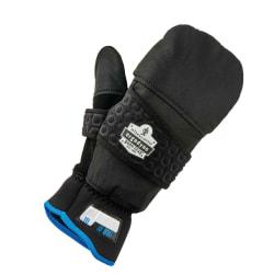 Ergodyne ProFlex 816 Thermal Flip-Top Gloves, Large, Black
