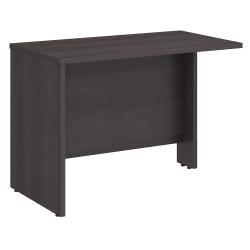 "Bush Business Furniture Studio C 42""W Desk Return, Storm Gray, Standard Delivery"