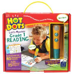 Educational Insights Hot Dots® Let's Master Grade 1 Reading Set With Hot Dots Pen, Grade 1 - 2