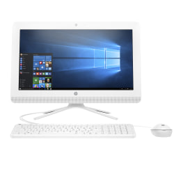 "HP All-in-One PC, 24"" Screen, AMD A8, 4GB Memory, 1TB Hard Drive, Windows® 10"