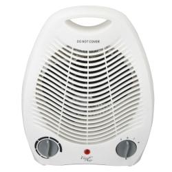 """Vie Air 1500-Watt Fan Heater, Office, 5-1/4"""" x 7-3/4"""", White"""