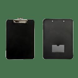 "Baumgartens® Unbreakable Clipboard, 8 1/2"" x 11"", 90% Recycled, Black"