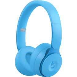 Beats by Dr. Dre Solo Pro Wireless Headphones - Stereo - Wireless - Bluetooth - Over-the-head - Binaural - Circumaural - Noise Canceling - Light Blue