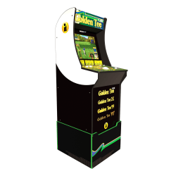 Arcade1Up Golden Tee Classic Arcade Cabinet With Custom Riser