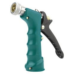 Gilmour Insulated Pistol Grip Nozzle, Green/Black