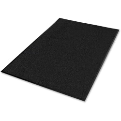 "Guardian Floor Protection Platinum Series Walk-Off Mat - Indoor - 72"" Length x 48"" Width x 0.37"" Thickness - Polypropylene - Black"