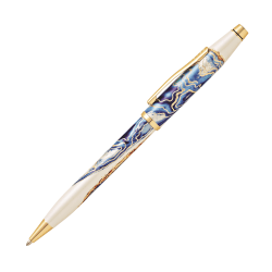 Cross® Wanderlust Ballpoint Pen, Medium Point, 1.0 mm, Malta Barrel, Black Ink