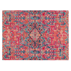 "Anji Mountain Merida Rug'd Chair Mat, 1/4""H x 40""W x 54""D, Multicolor"