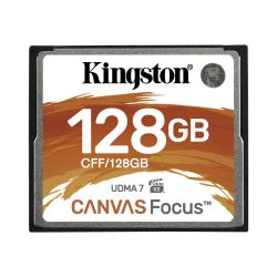 Kingston Canvas Focus 128 GB CompactFlash - 150 MB/s Read - 130 MB/s Write