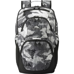 """High Sierra Swoop Backpack With 17"""" Laptop Pocket, Camo"""