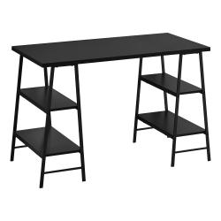 """Monarch Specialties Wincey 48""""W Computer Desk, Black"""