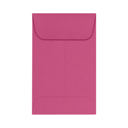 "LUX Coin Envelopes, #1, 2 1/4"" x 3 1/2"", Magenta, Pack Of 1,000"