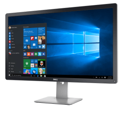 "Dell UltraSharp UP3216Q 31.5"" LED Monitor, Black"