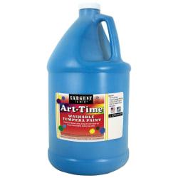 Sargent Art® Art-Time Washable Tempera Paint, 1 Gallon, Turquoise