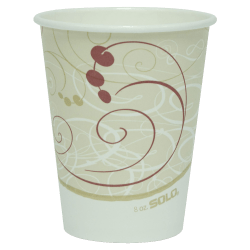 Hot Cups, 8 Oz., Pack Of 50