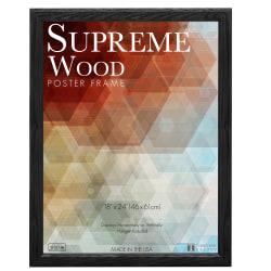 "Timeless Frames® Supreme Picture Frame, 18"" x 24"", Black"