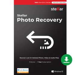 Stellar Photo Recovery Standard, For Windows®