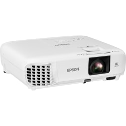 Epson PowerLite X49 LCD Projector - 4:3 - 1024 x 768 - Front, Rear, Ceiling - 6000 Hour Normal Mode - 12000 Hour Economy Mode - XGA - 16,000:1 - 3600 lm - HDMI - USB
