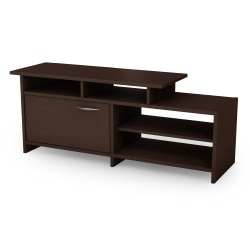 South Shore Step One TV Stand, Chocolate