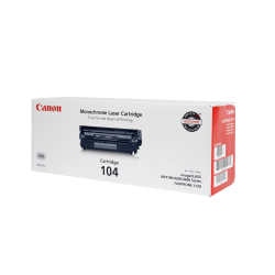 Canon 104, Black Toner Cartridge (0263B001BA)