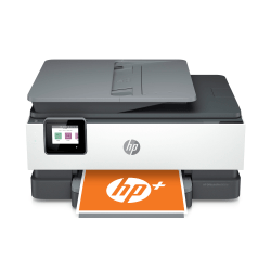 HP OfficeJet Pro 8035e Wireless Color Inkjet All-In-One Printer With HP+, Basalt
