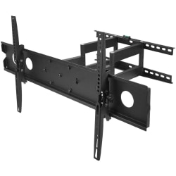 "SIIG Large Full-Motion TV Wall Mount - 1 Display(s) Supported - 42"" to 80"" Screen Support - 198.42 lb Load Capacity"