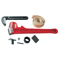 Pipe Wrench Replacement Parts, Heel Jaw & Pin Assembly, Size 48