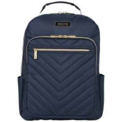 """Kenneth Cole Reaction Chelsea Computer Backpack With 15"""" Laptop Pocket, Navy"""