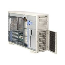 Supermicro A+ Server 4021M-32R Barebone System - nVIDIA MCP55 Pro - Socket F (1207) - Opteron (Dual-core) - 1000MHz Bus Speed - 32GB Memory Support - Gigabit Ethernet - 4U Tower