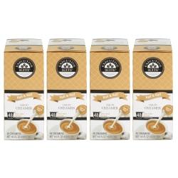 Executive Suite® Half-And-Half Liquid Coffee Creamer, Original Flavor, 0.38 Oz Single Serve x 4