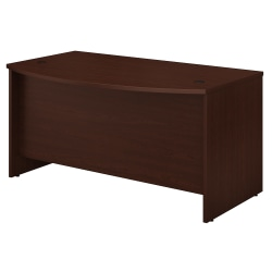 "Bush Business Furniture Studio C Bow Front Desk, 60""W x 36""D, Harvest Cherry, Standard Delivery"