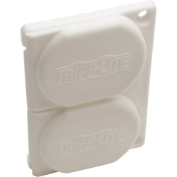 Tripp Lite Replacement Outlet Covers for Hospital Medical Power Strips - Supports Power Strip - Lockable - Plastic - White