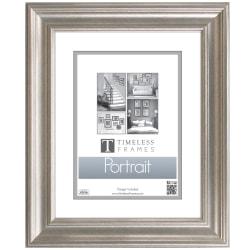 """Timeless Frames® Lauren Portrait Frame, 8"""" x 10"""", Silver"""