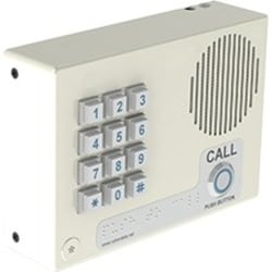 CyberData SIP-enabled IP Indoor Keypad Intercom (Wall-Mounted)(with Night Ringer) - Cable - Wall Mount