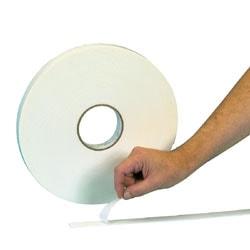 """3M™ 4004 Double Sided Foam Tape, 1/2"""" x 18 Yd., 1/4"""", White, Case Of 18"""