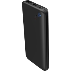 Supersonic 12,000 mAh Qi Wireless Powerbank with Suction Cups - For Smartphone, Tablet PC - Lithium Polymer (Li-Polymer) - 12000 mAh - 3.10 A - 5 V DC, 9 V DC, 12 V DC Output - 5 V DC, 9 V DC Input - 2 x - Black