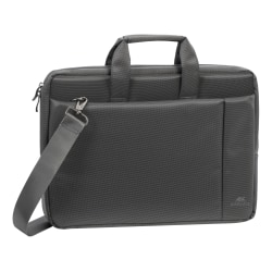"Rivacase 8231 Laptop Bag With 15.6"" Laptop Pocket, Gray"