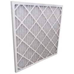 "Tri-Dim Pro HVAC Pleated Air Filters, Merv 7, 20"" x 20"" x 1"", Case Of 12"