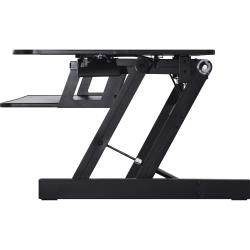 Lorell™ Adjustable Desk Riser Plus, Black