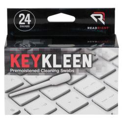 Advantus KeyKeleen Cleaning Swabs, Case Of 24