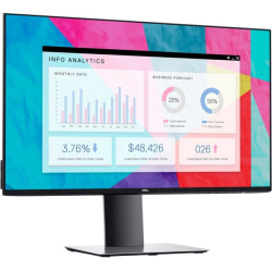 """Dell UltraSharp U2419H 23.8"""" Full HD LED LCD Monitor - 16:9 - 24"""" Class - In-plane Switching (IPS) Technology - 1920 x 1080 - 16.7 Million Colors - 250 Nit Typical - 5 ms Fast - 60 Hz Refresh Rate - HDMI - DisplayPort"""
