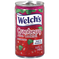 Welch's Cranberry Cocktail, 5.5 Oz, Case Of 48
